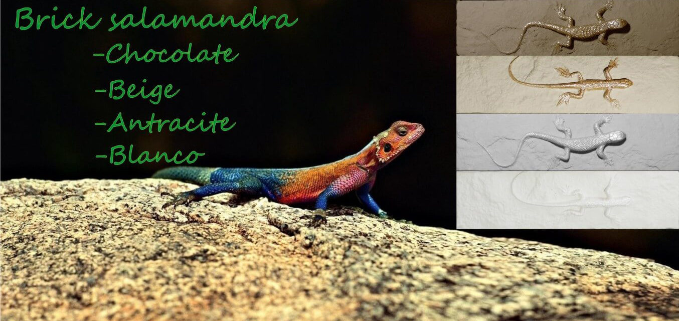 Выпуск авторского декора Brick Salamandra