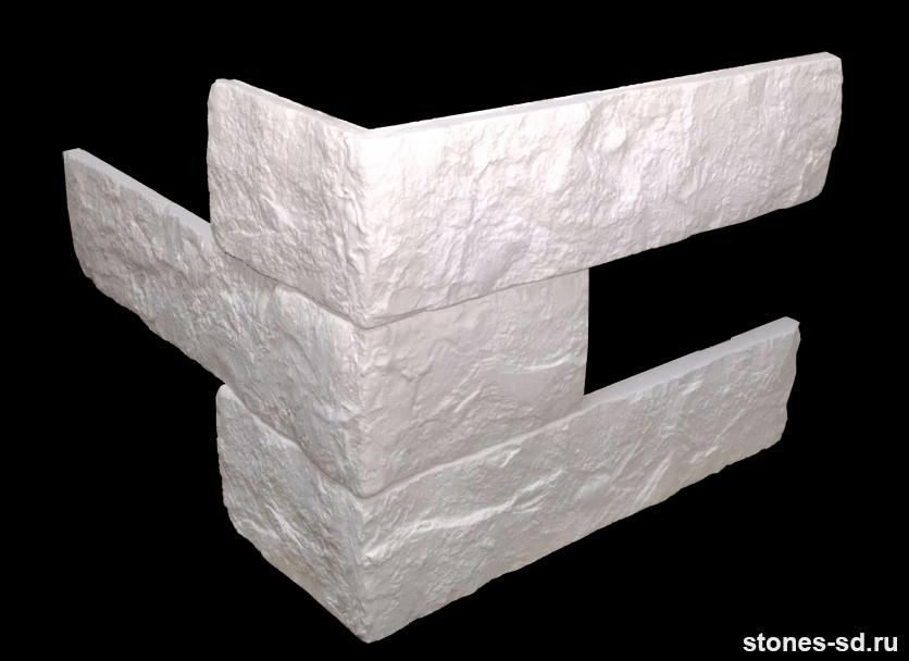 Декоративный кирпич Brick tekst угловые элементы