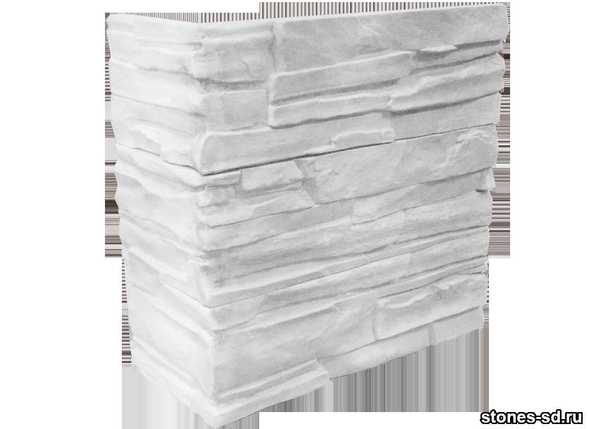 Декоративный камень Альпы угловые элементы