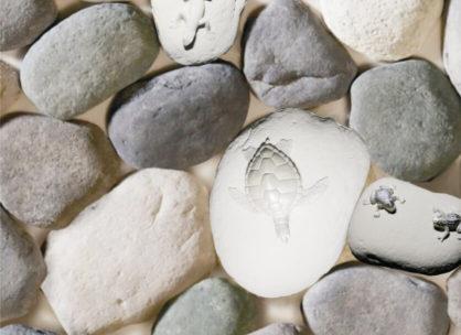 Декоративный камень Алтайский окатыш