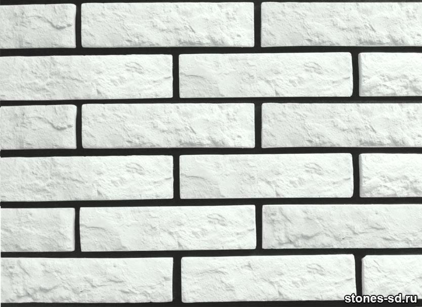 Декоративный кирпич Brick blanco