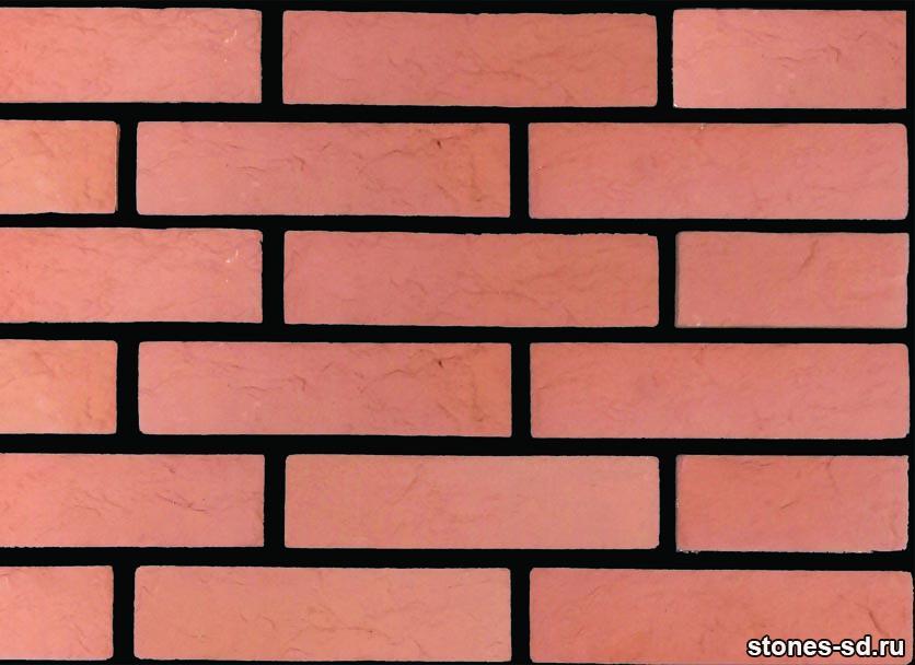 Декоративный кирпич Brick red
