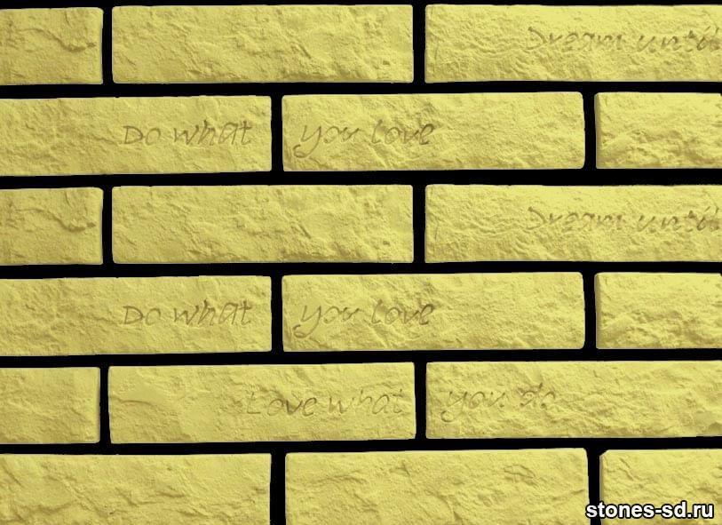 Декоративный кирпич Brick sun tekst