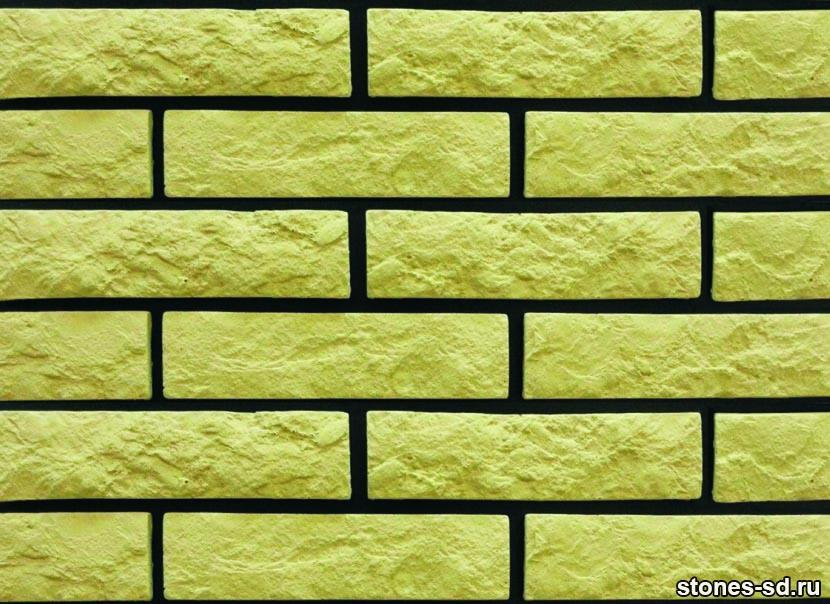 Декоративный кирпич Brick yellow