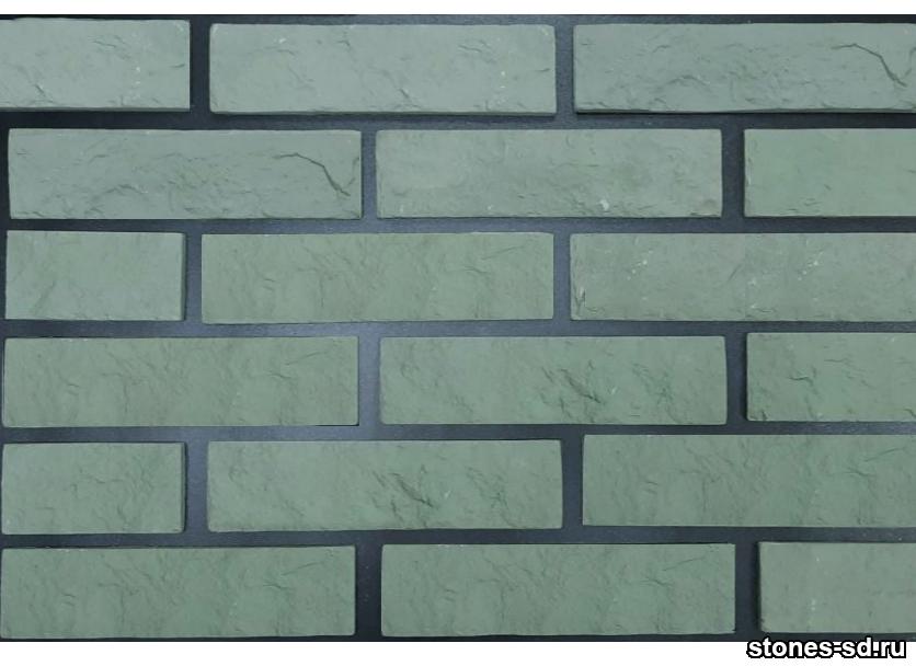 Декоративный кирпич Brick green