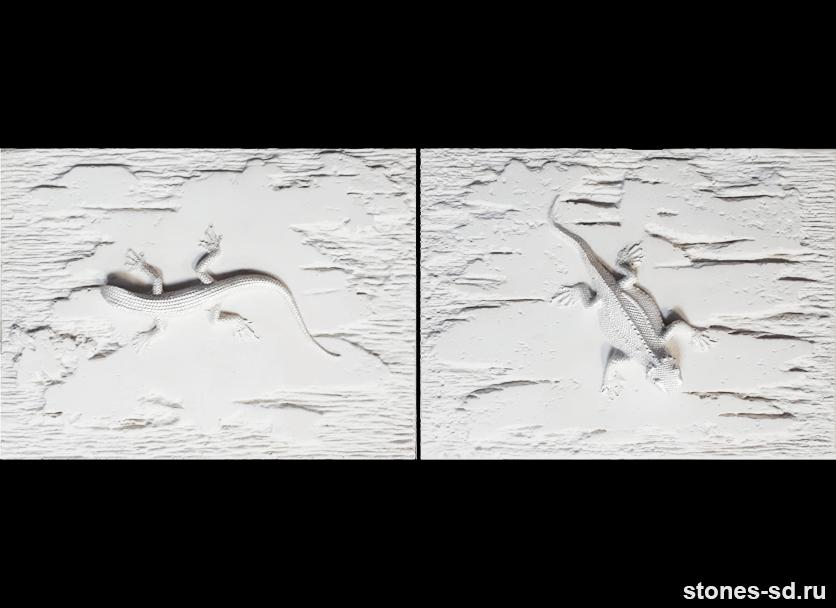Декоративный камень Stone blanco decor salamandra 2pz