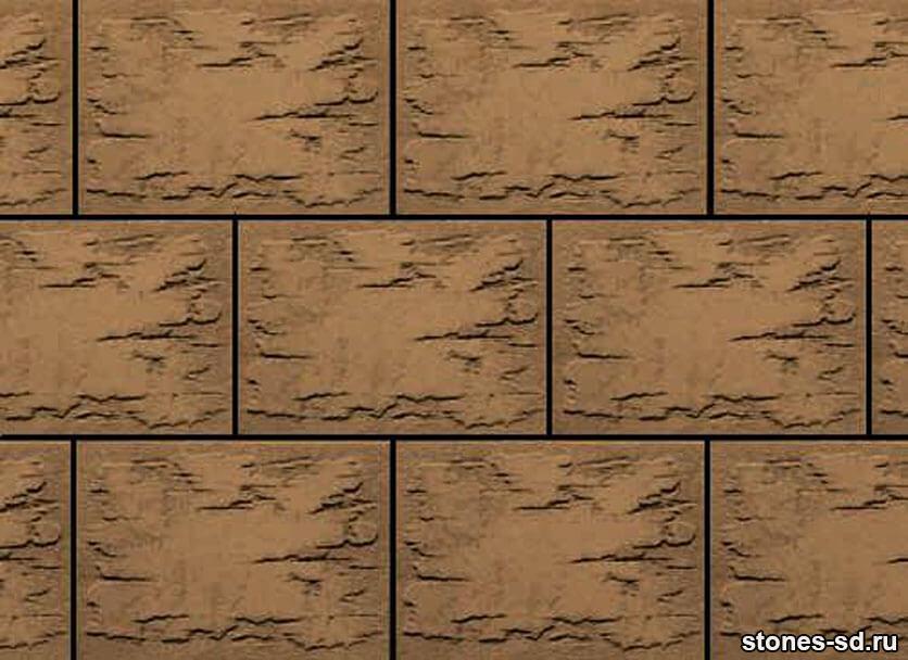 Декоративный камень Stone brown