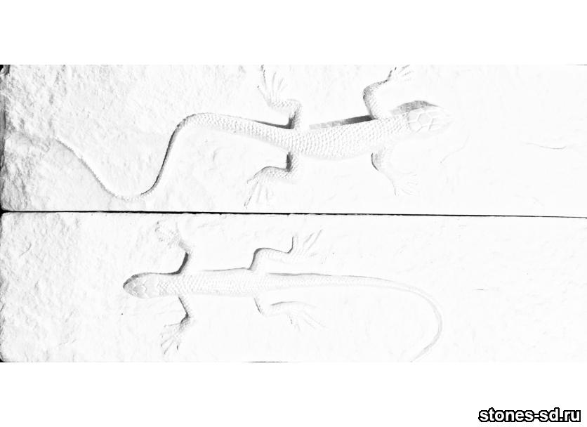 Декоративный кирпич brick salamandra blanco 2pz