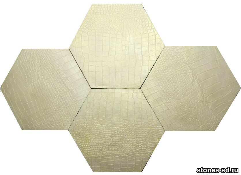 Декоративный камень skin beige gold