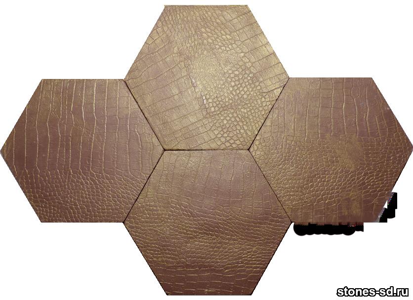 Декоративный камень skin burgundy gold