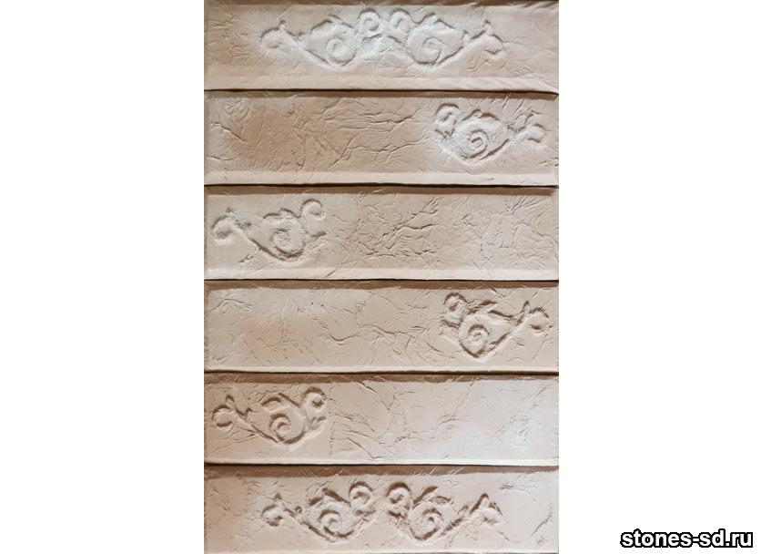 Декоративный кирпич Лофт декор винтаж розовый песок