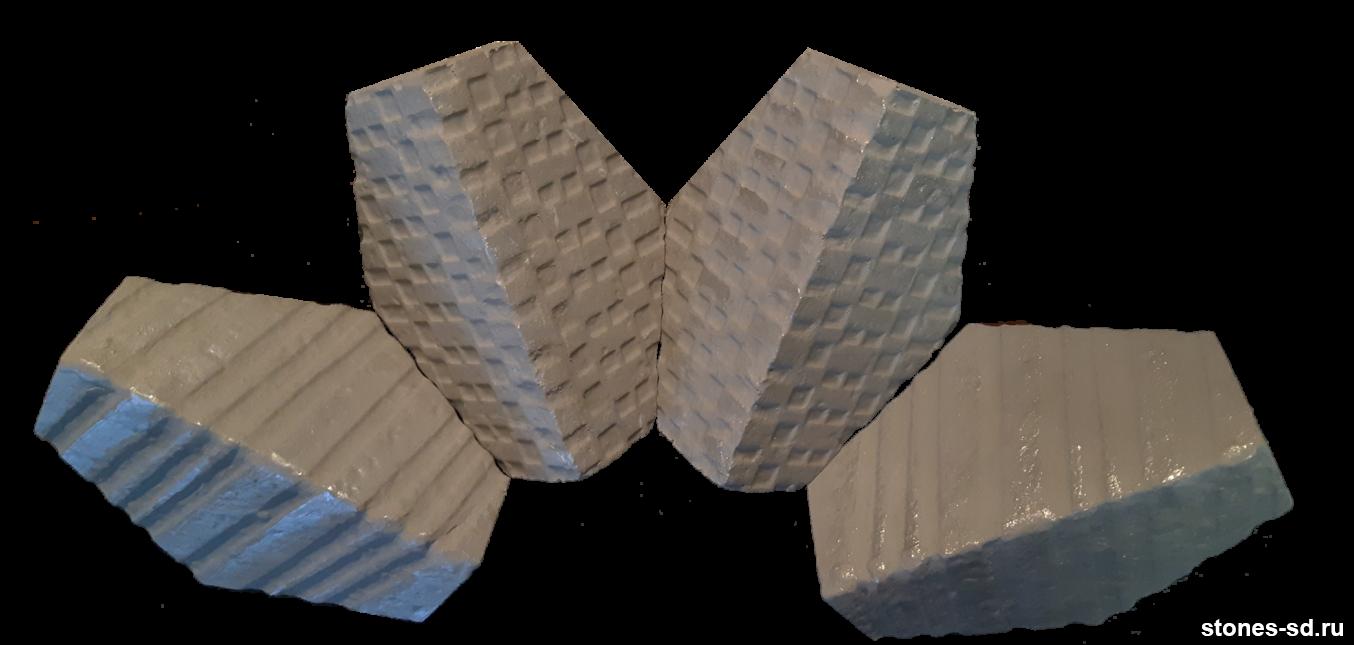 Угловые элементы Art-deco и отличия покрытия Silver и Perla