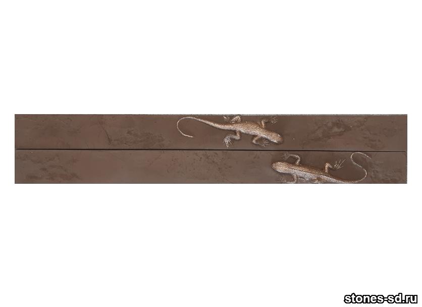 Декоративный кирпич Ригель decor salamandra chocolate 2pz